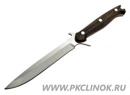 Цельнометаллический нож ТАЙПАН